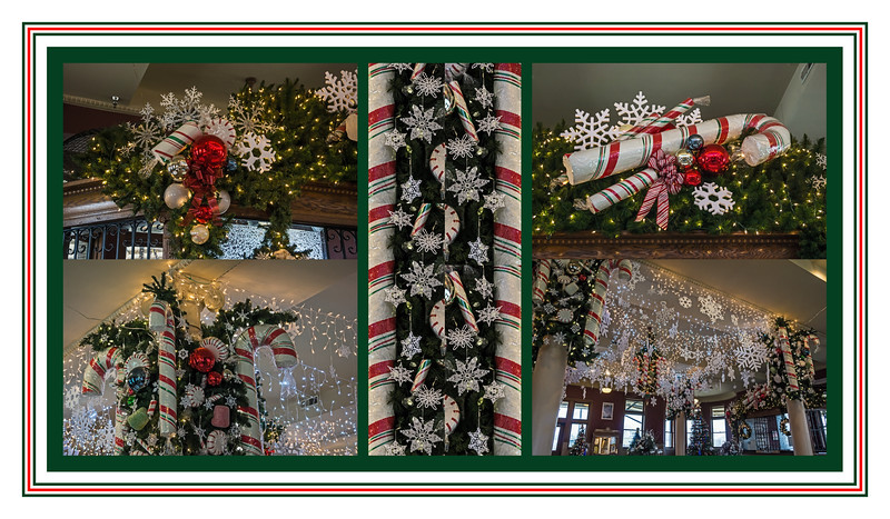 Snowflakes and Peppermint Candy at Durand