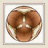 Abstract - Geometric Mini-Planet from Architectural Detail  IN8037