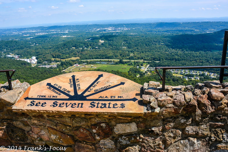 March 13, 2014 -- Overlooking seven (7) states from Rock City atop Lookout Mountain near Chattanooga, Tennessee  http://franks-focus.smugmug.com