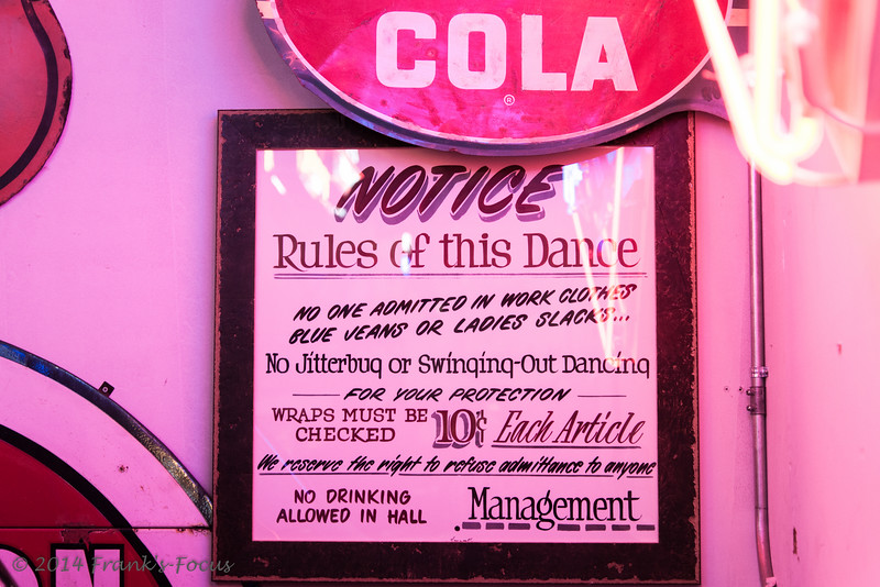Friday, December 19, 2014 -- Rules of The Dance