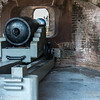 March 8, 2014 -- A 42-pound cannon stands ready inside Fort Sumter.  http://franks-focus.smugmug.com