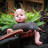 June 13, 2013 - A WTF Lawn Ornament, by Paul Kilsdonk...  Baby Head, Duck Body, and Lobster Arm/Tail???
