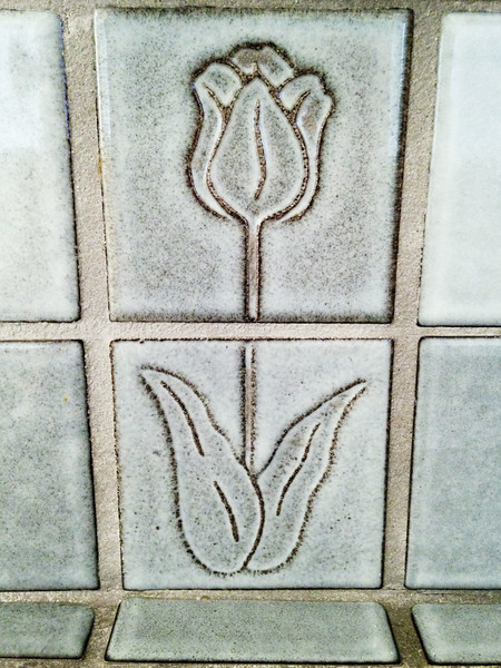 2014-08-27<br /> Tile Tulip<br /> At a place that shall soon be ours... Stay tuned.