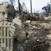 Malibu fire aftermath