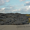 Volcano National Park, Big Island, Hawai'i<br /> <br /> I heard today of the Volcano that is erupting on the Big Island threatening the town of Pahoa.  It reminded me of our hike through Volcano Natl Park and this photo ...  It's quite an astounding place!<br /> <br /> Lava cooled and covered the Chain of Craters road from a volcanic eruption in 2007