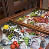 Fresh catch of the day on display at one of the many resturants in Taormina, Sicily