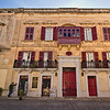 One of many historic houses in the ancient walled city of Mdina on the island of Malta