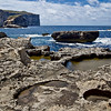 Fungus Rock on the far side of this bay on Gozo was prized for a fungus used by the Knights of Malta for wounds and medicinal purposes