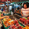 Fresh, juicy fruits are one of the many pleasures of the Night Market in Chiang Mai, Thailand