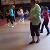 """Video Archive Clip 2014 (Oct 18) - Yaden Clogging - Julie, Jake, Sr. (age 30), and Steven (age 26) dance the """"Call on Baton Rouge"""" routine, along with Jake, Jr. (age 7) and Kylie (age 8) - OktoberCLOGFest - Nashville, IN - Clogging Memoirs Series (2 min 31 sec)"""