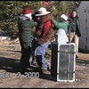 Video Archive Clip 2000 (Dec 3) - Yaden, Dan & Julie (Age 46) - Christmas tree(s) hunt - Red Feather Lakes, CO - Jake (age 16), Steven (age 12), Alex (age 10) - Original VHS Series (6 min 54 sec)