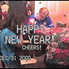 Video Archive Clip 2000 (Dec 31) - Yaden, Dan & Julie - Age 46 - New Year's Eve - Storm Mountain home - Drake, CO - Steve (age 12), Alex (age 10) - Original VHS Series (8 min 41 sec)