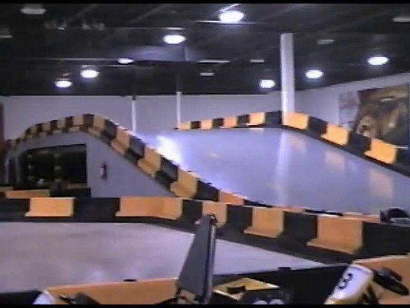 Video Archive Clip 2000 (May) - Yaden, Dan & Julie (Age 46) - Family visit to the new entertainment complex in the Kroger mall - Part 2 of 2 - Mansfield, OH - Jacob (age 15), Steven (age 12), Alex (age 10) - Original VHS Series (13 min 57 sec)