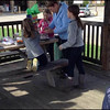 Video Archive Clip 2014 (Oct 19) - Yaden Family - The Yaden families of Colorado, Indiana, and Ohio celebrate birthdays with some cake and ice cream at the local park following a clogging workshop (includes the boys in a candle blowing flashback from 1991)  - Nashville, IN (5 min 36 sec)