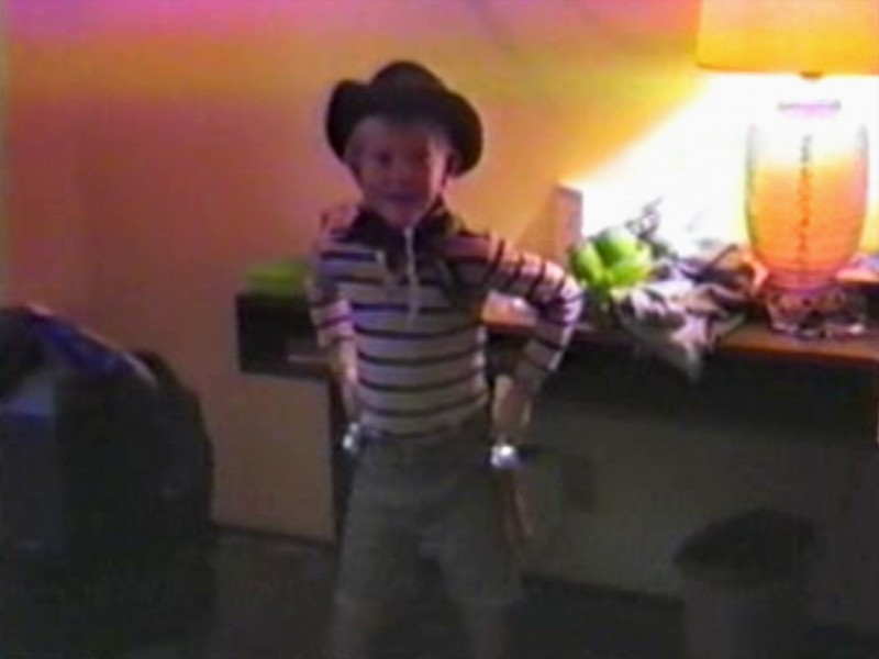 Video Archive Clip 1987 (July) - Yaden, Matthew J. - Matthew's 6th Birthday - Lincoln City, OR - Dan & Julie (age 33), Danny (Age 9), Jacob (Age 2) - Mixed Relations Series - Edited in July 1987 (3 min 3 sec)