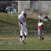 Video Archive Clip 2001 (Oct 18) - Yaden, Jacob B. - Age 16 - Jake (#66, white uniform) plays JV football for Thompson Valley High School - Thompson Valley Eagles vs Loveland Indians at Loveland High School - Loveland, CO - Original VHS Series (12 min 1 sec)
