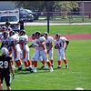 Video Archive Clip 2008 (Sept 20) - Yaden, Steven R. - Age 20 - Steven (#80, white jersey, tight end) plays football for the Doane Tigers (Junior year) - Matt Franzen, Head Coach - Doane College (Tigers) of Crete, NE vs Midland Lutheran College (Warriors) of Fremont, NE - Memorial Field at Midland Lutheran College - Original VHS Series (11 min 55 sec)