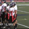 Video Archive Clip 2009 (Sept 12) - Yaden, Steven R. - Age 21 - Steven (#40, white jersey, tight end) plays football for the Doane Tigers (Senior year) - Matt Franzen, Head Coach - Doane College (Tigers) of Crete, NE vs Concordia University (Bulldogs) of Seward, NE - Bulldog Stadium at Concordia University - Original VHS Series (8 min 6 sec)
