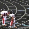 Video Archive Clip 2009 (Aug 29) - Yaden, Steven R. - Age 21 - Steven (#40, white jersey, tight end) plays football for the Doane Tigers (Senior year) - Matt Franzen, Head Coach - Doane College (Tigers) of Crete, NE vs Avila University (Eagles) of Kansas City, MO - Platte City Stadium at Avila University - Original VHS Series (3 min 34 sec)