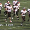 Video Archive Clip 2009 (Nov 14) - Yaden, Steven R. - Age 21 - Steven (#40, white jersey, tight end) plays football for the Doane Tigers (Senior year) - Matt Franzen, Head Coach - Doane College (Tigers) of Crete, NE vs Dana College (Vikings) of Blair, NE - Dana College Stadium - Original VHS Series (16 min 29 sec)