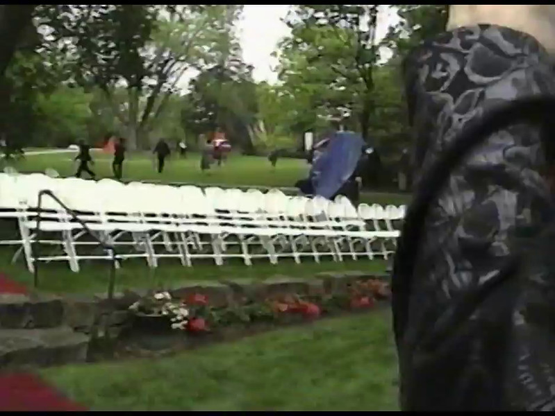 Video Archive Clip 2010 (May 17) - Yaden, Steven R. - Age 22 - Steven graduates from Doane College with his Bachelor of Arts Degree - Crete, NE - Original VHS Series (18 min 4 sec)
