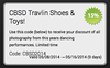 Coupon Travlin Shoes & Toys!