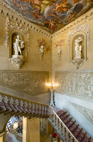second level of grand staircase