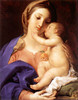 "Pompeo Batoni, ""Madonna and Child"""
