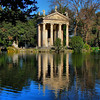Temple of Aesculapius in the Borghese Gardens