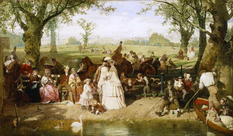 1856 painting by John Ritchie