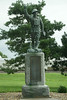 World War I statue in Axtell