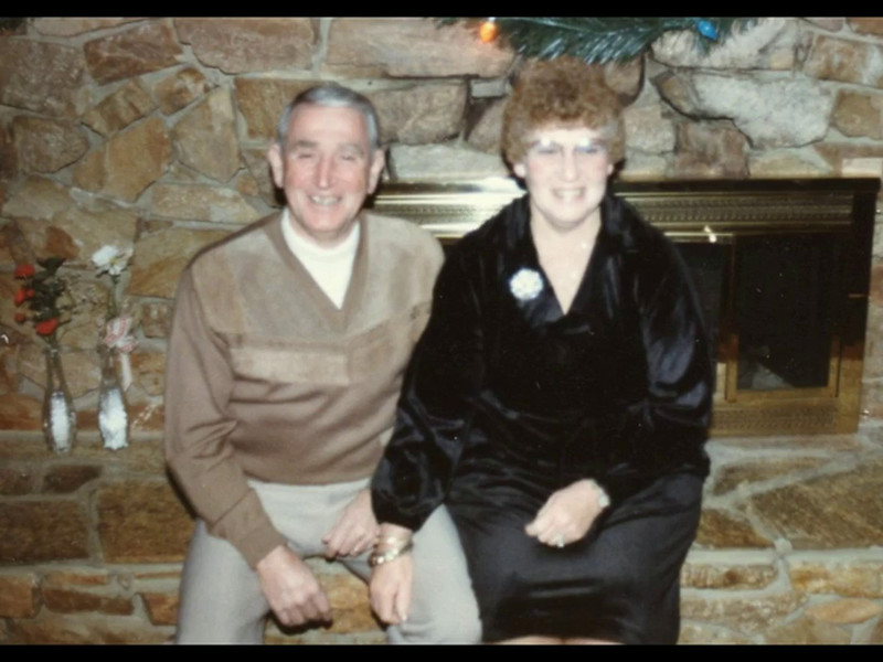 Audio Archive Clip 1979 (Dec) - Yaden, Dave & Betty. - Mom (age 51) & Dad (age 58) discuss the events of the day - Selah, WA (4 min 38 sec)