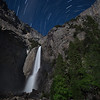 Lower Yosemite Falls & Star Trails