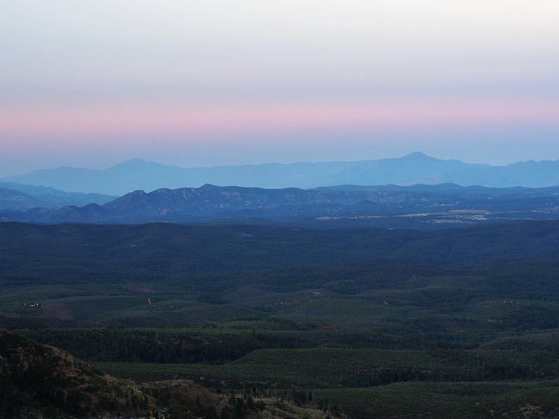 Mazatzal Mountains at dawn
