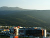 Vitosha Mountains from my hotel room