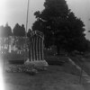 Collinsville, CT - May 30, 1904; Soldiers' Monument before the unveiling