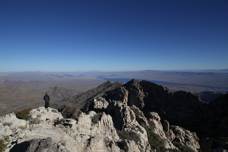 P22 - Looking Out Towards Lake Mohave From Spirit Mountain