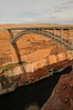 Glen Canyon Dam  & bridge crossing over the Colorado River
