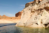 Beautiful scenery on Lake Powell