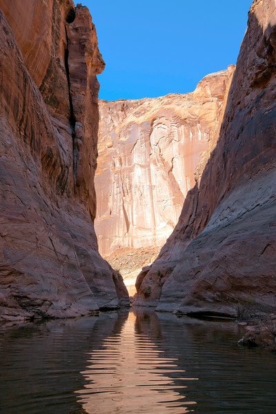 Lake Powell Side Canyon