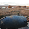 Hot spring at Alkali.