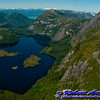 Remote snowy mountains and granite cliff guarded lakes and marshes within Misty Fiords National Monument (USA Alaska Ketchikan)