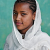 Young Orthodox Christian girl from Addis Ababa.  Ethiopia, 2013.
