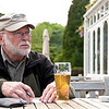"Tom contemplates as he writes postcards in Wales <a href=""http://bit.ly/isleofmanadventure"">http://bit.ly/isleofmanadventure</a>"
