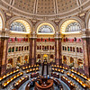 Main Reading Room in the Library of Congress. Washington DC,  digital, Mar 2015.