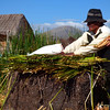 Day 12: Uros - An explanation by the elders on how they make their floating islands.