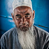 Portrait of a Muslim man<br /> <br /> Thailand, 2012