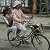 Students on there way to school.<br /> <br /> Ninh Binh, vietnam,2008.