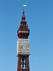 Blackpool Tower, seen from Central Pier, on the 26th May 2013