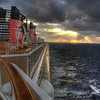 Sunrise on the Disney Magic